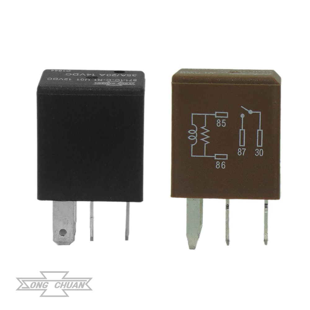 871 Automotive 35A Plug In ISO Micro Relay