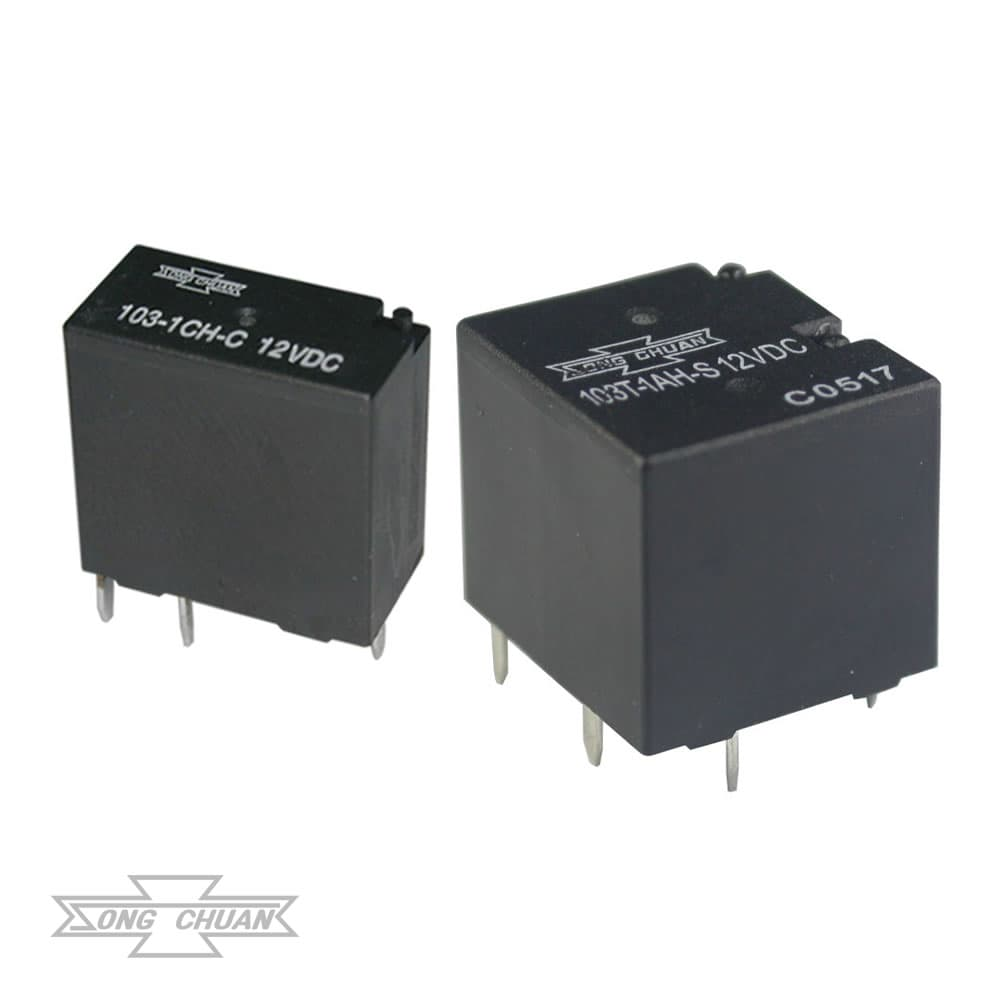 103 Automotive – 20A Single/Twin PCB Relay