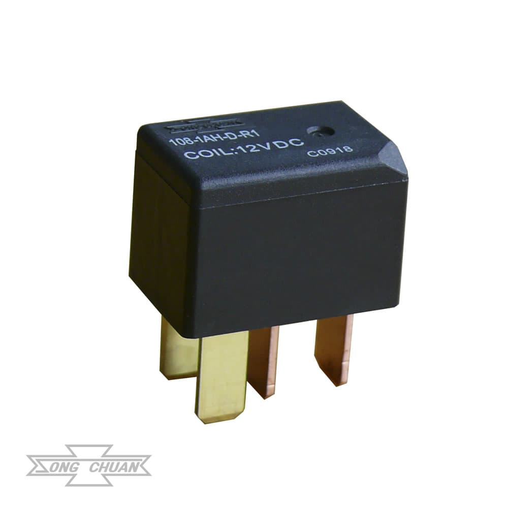 108 Automotive 25A Low Profile ISO Micro Relay