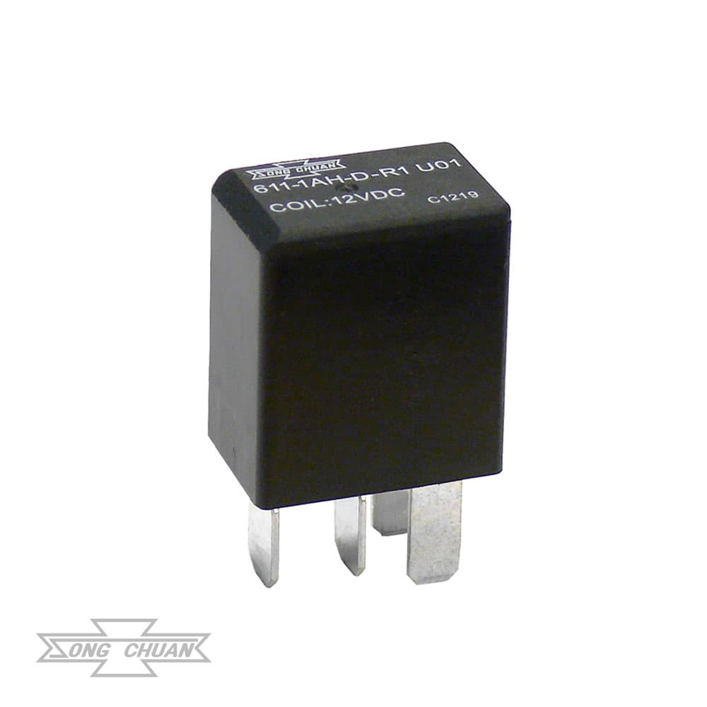 611 Automotive High Current ISO Micro Relay