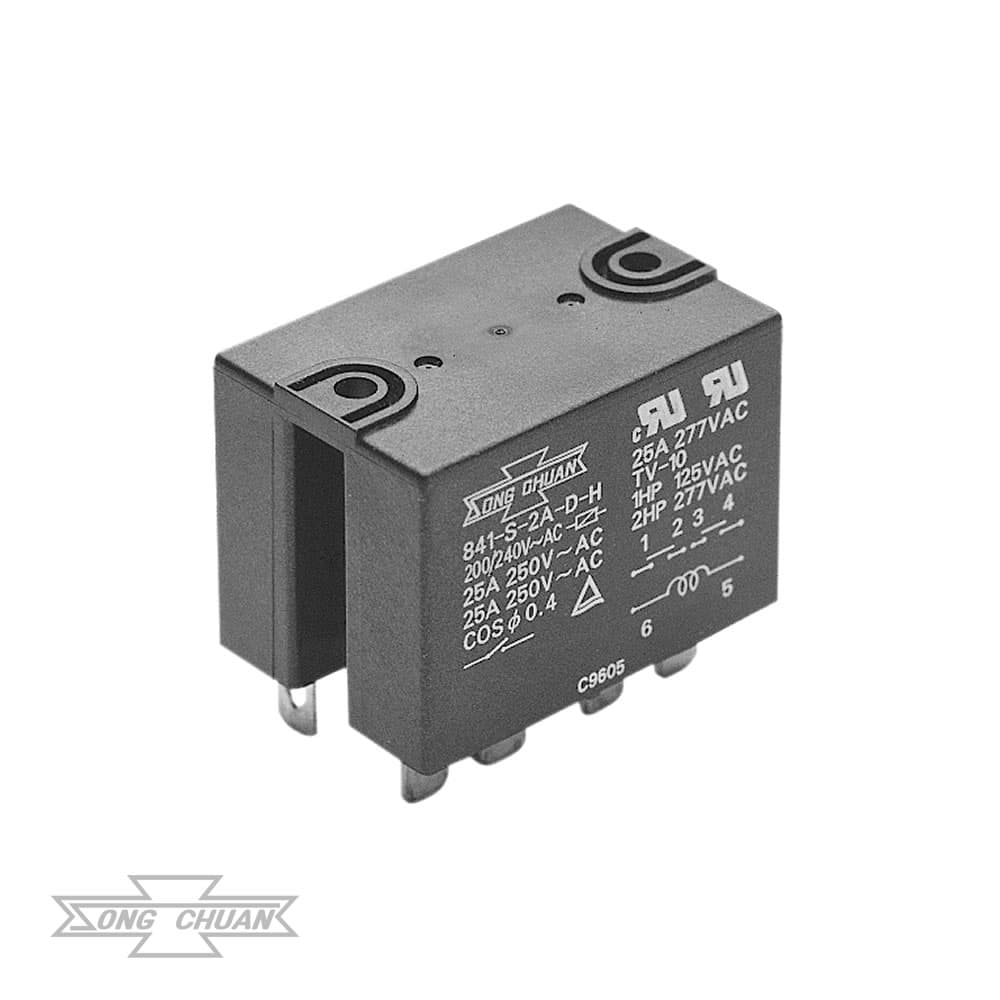 841 Heavy Duty High Inrush 30A Relay