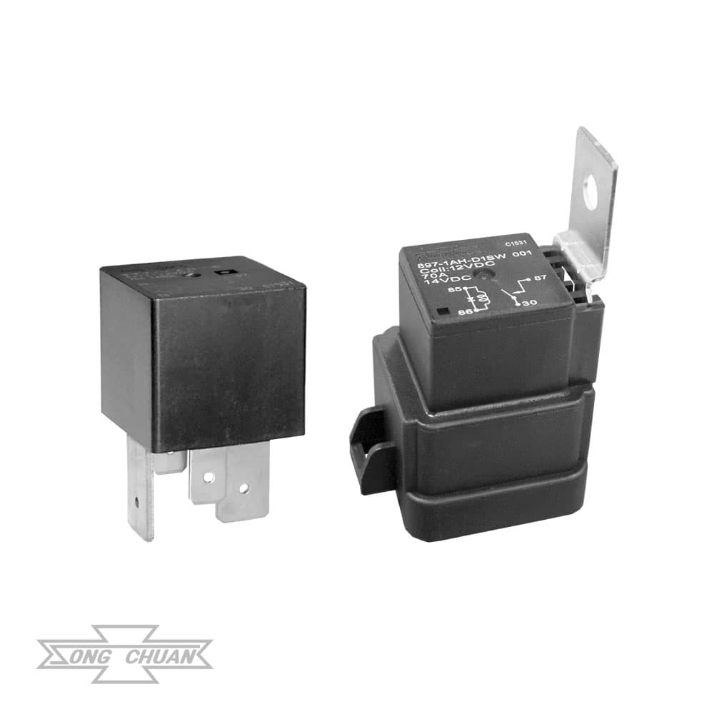 897 Automotive 70A ISO Mini Relay