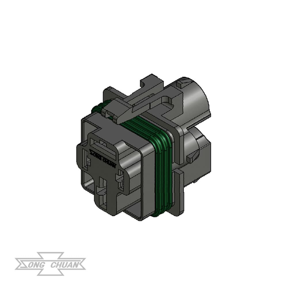 897WP 4 Position Connector