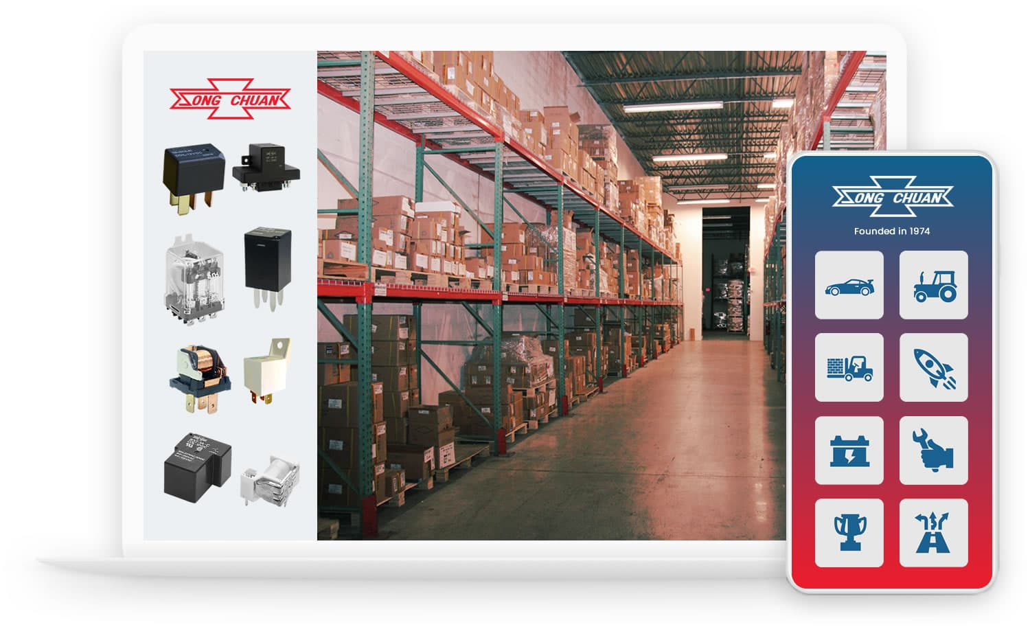 Welcome to Song Chuan USA, Electronics Relay Manufacturers